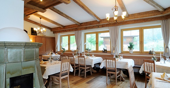 Culinary pleasure in Gasthof Oberstegen